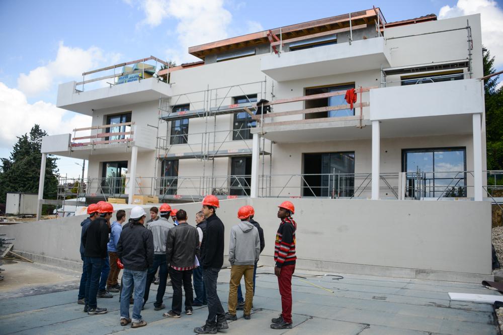 Visite de chantier sim promotion for Visite de chantier